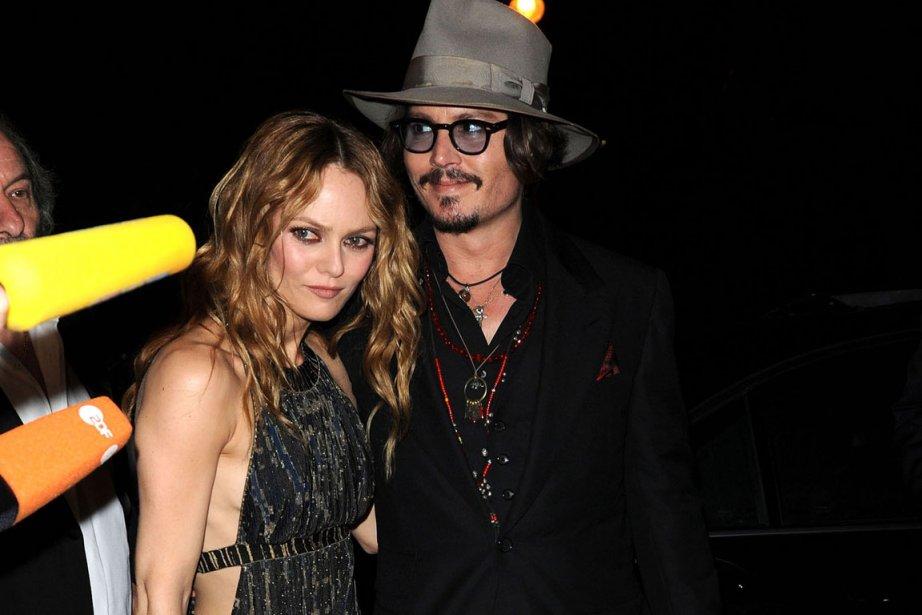 Vanessa Paradis et Johnny Depp... (Photo: Reuters)