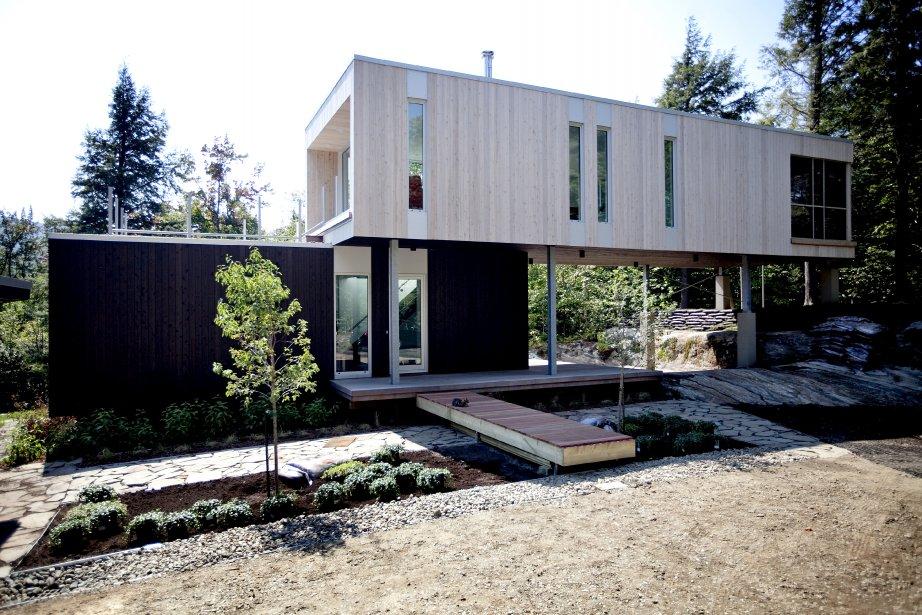 plan maison ville etroite ventana blog. Black Bedroom Furniture Sets. Home Design Ideas