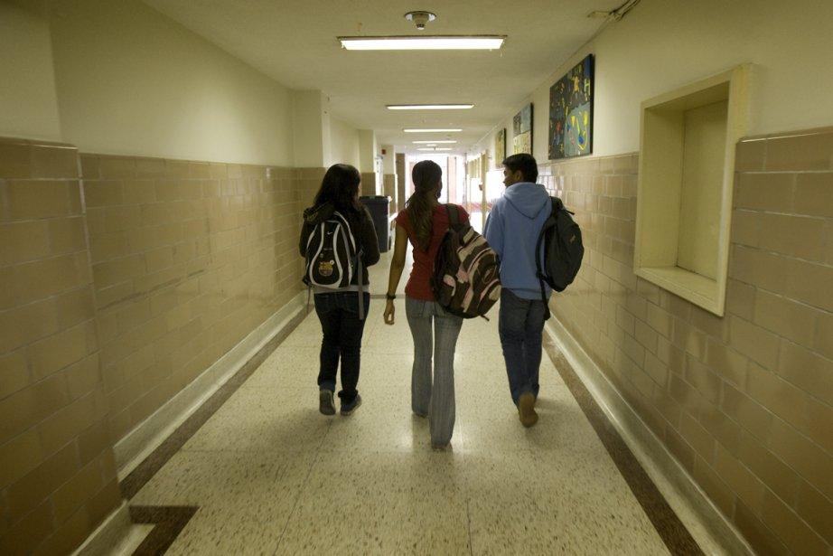 Pour contrer le décrochage, des jeunes suspendus peuvent... (Photo: David Boily, Archives La Presse)