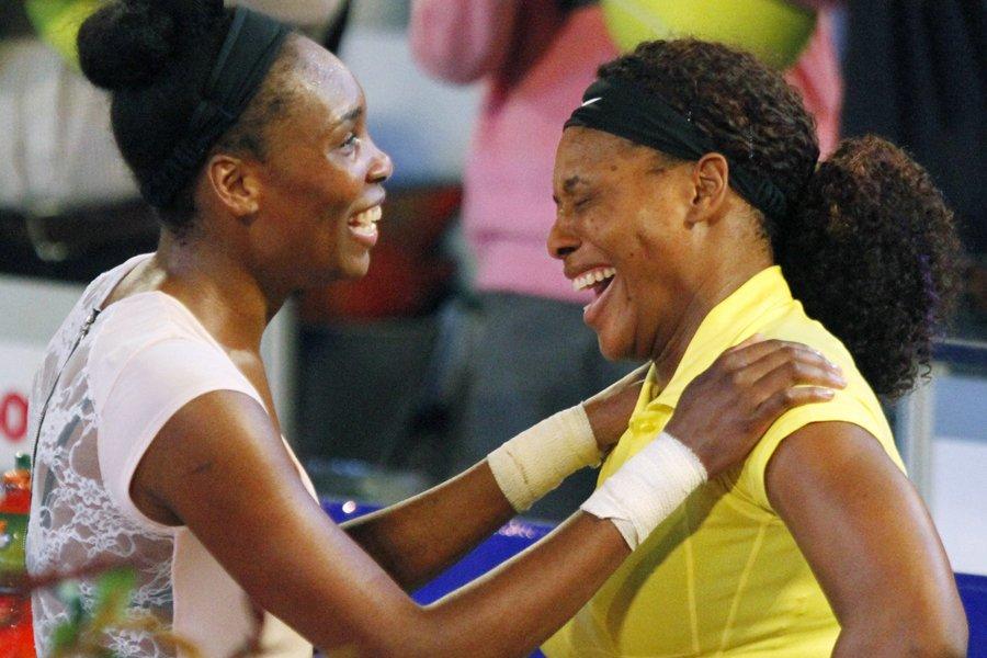 Venus et Serena Williams... (Photo: Reuters)