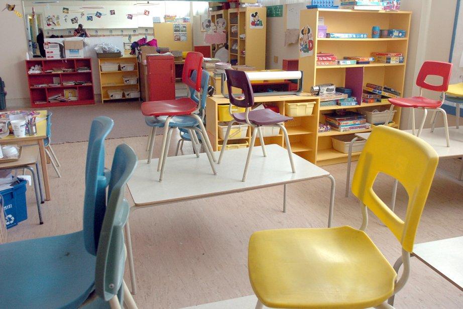 Des travailleuses en Centres de la petite enfance... (Photothèque Le Soleil, Steve Deschênes)