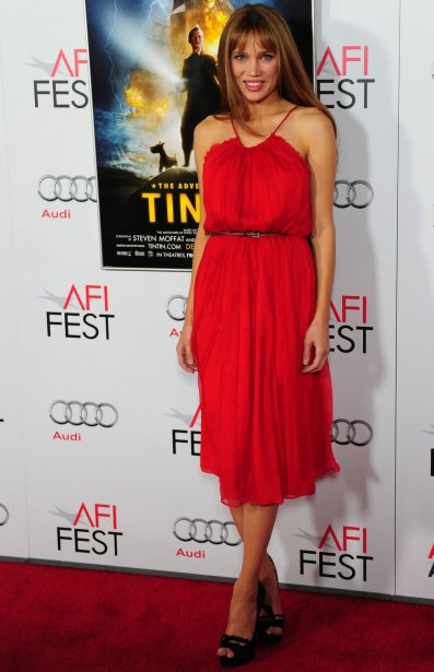 L'actrice Natalie Gal. | 27 juillet 2012