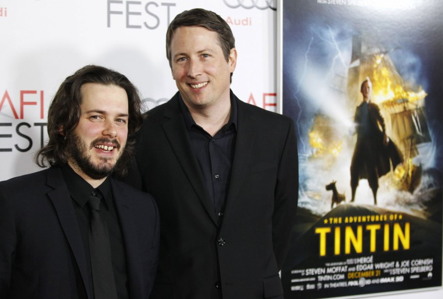 Les scénaristes Edgar Wright et Joe Cornish | 27 juillet 2012