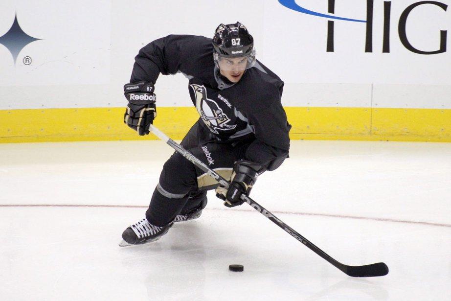 Crosby est toujours très inspiré quand vient le... (Photo: AP)