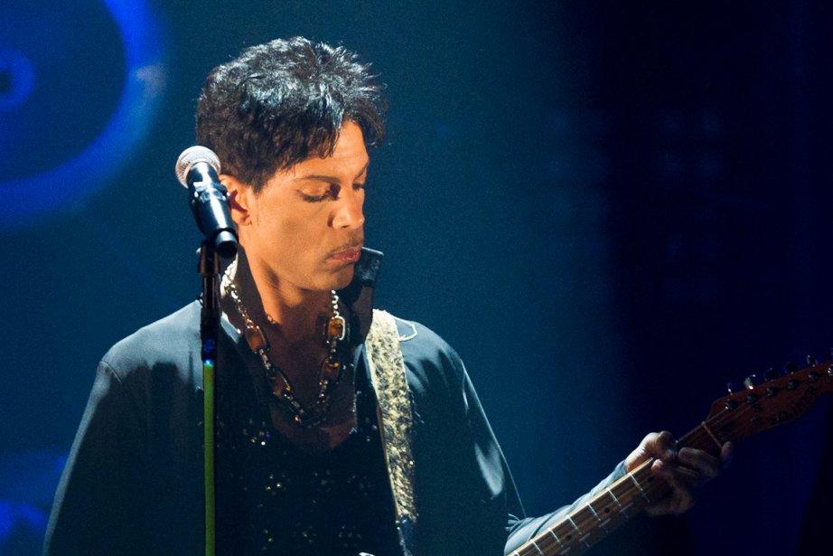 La vedette du pop, Prince, lors de son... (Photo: Edouard Plante-Fréchette, La Presse (Archives))