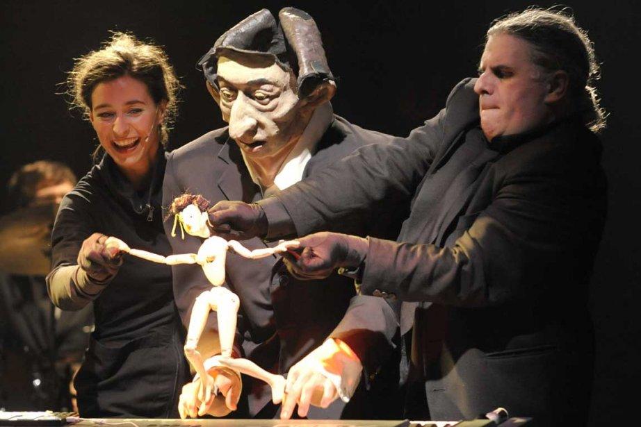 La création de ceCabaret Gainsbourg, neuvième opus de... (Photo fournie par la production)