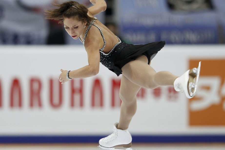 Amélie Lacoste a grimpé d'une place pour finalement... (Photo: Grigory Dukor, Reuters)