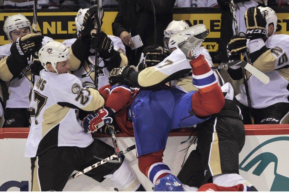 Pour le match de samedi contre les Penguins,... (Photo: Paul Chiasson, PC)