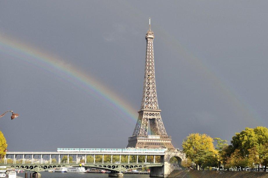 La tour Eiffel à Paris... (Photo: AFP)