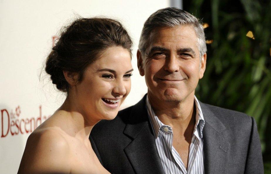 Shailene Woodley et George Clooney | 27 juillet 2012