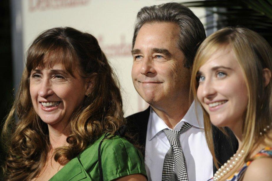 Beau Bridges, acteur, sa femme Wendy et sa fille Emily | 27 juillet 2012