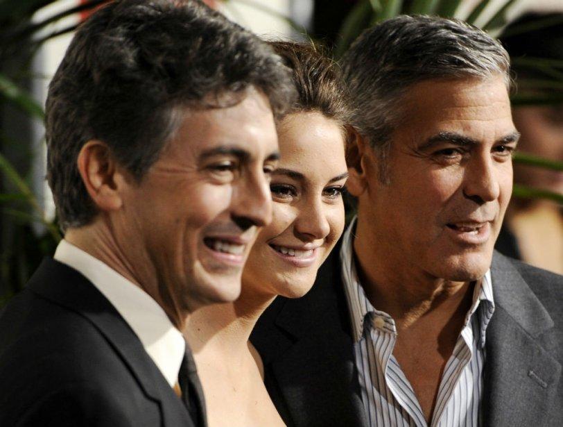 Alexander Payne, directeur, Shailene Woodley, actrice et  George Clooney, acteur | 27 juillet 2012