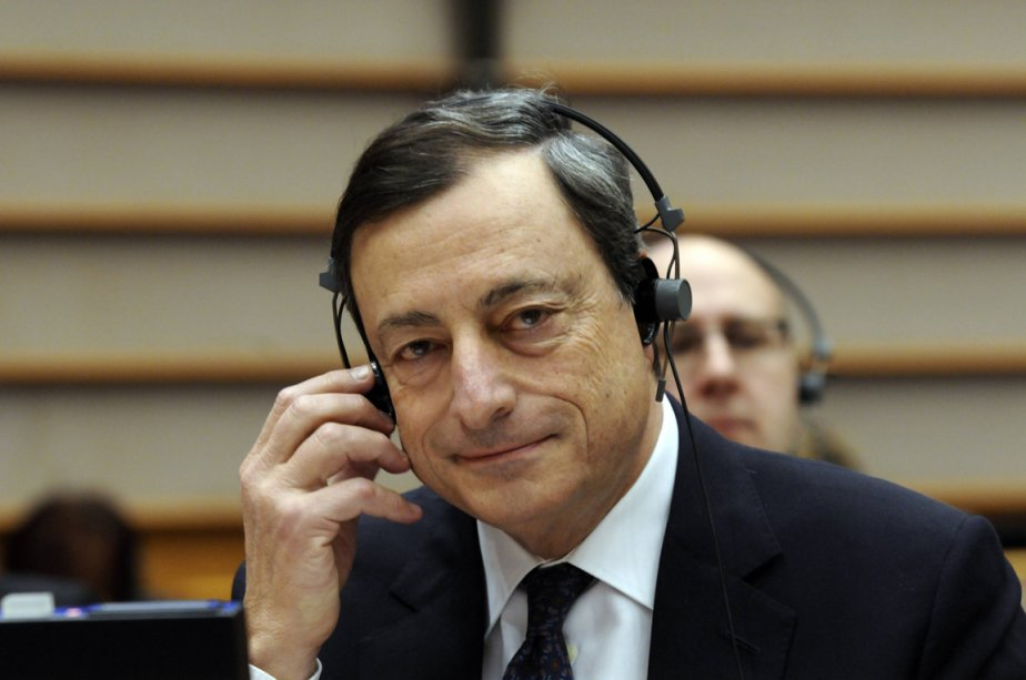 Le patron de la BCE, Mario Draghi.... (Photo AFP)