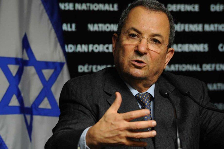 Ehud Barak... (Photo La Presse Canadienne)