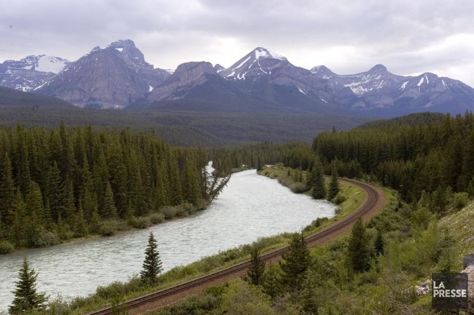 Banff, en Alberta... (Photo: archives La Presse)