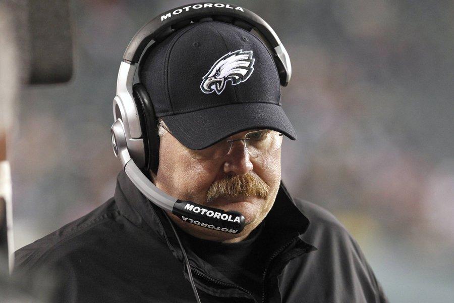Andy Reid a passé 14 saisons à la... (Photo: Reuters)