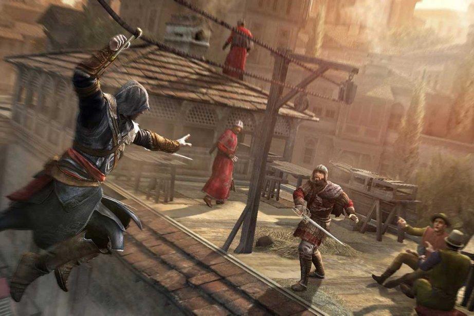 Image tirée du jeuAssassin's Creed Revelations.... (Photo La Presse Canadienne)