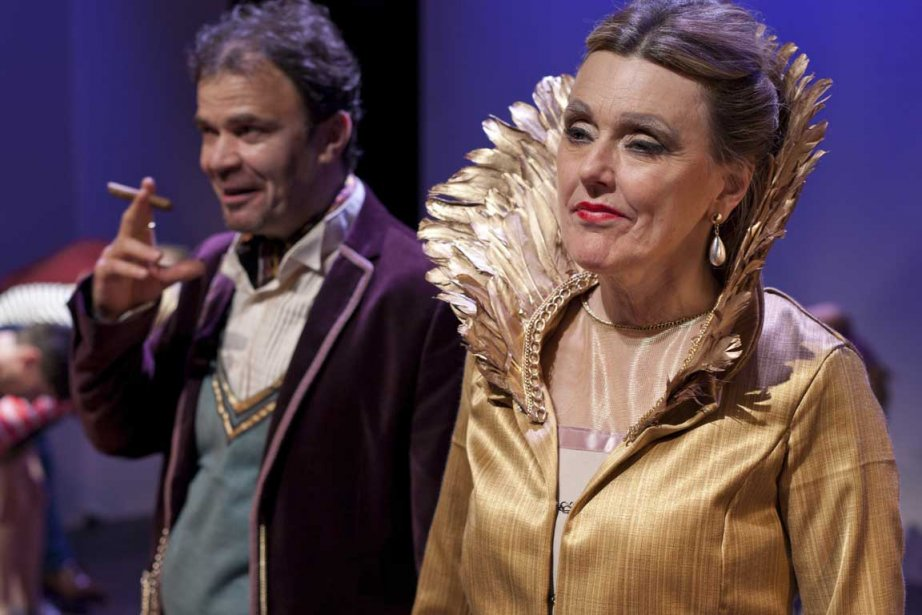 Markita Boies dans le rôle de la reine.... (Photo fournie par la production)