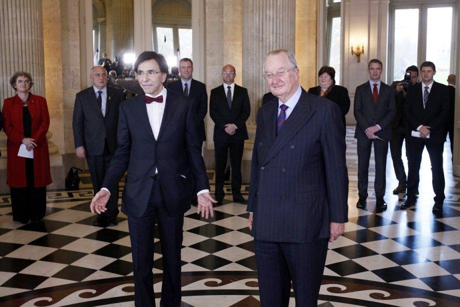 Le nouveau premier ministre belge Elio Di Rupo... (Photo: Yves Herman, Reuters)