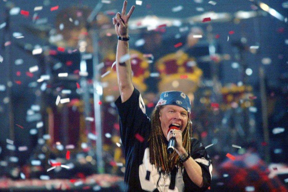 Axl Rose... (Photo Associated Press)