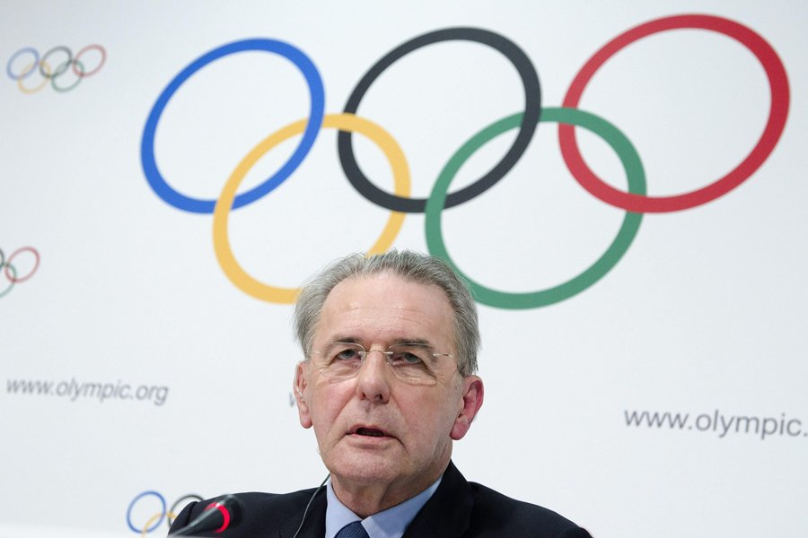 Le président du CIO, Jacques Rogge.... (Photo: AP)