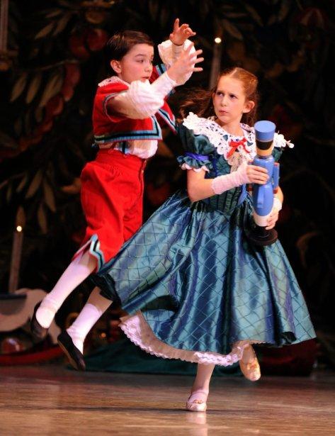 Casse Noisette est de retour cette année encore à la Place des Arts. Sur notre photo, la répétition générale du spectacle présenté par les Grands Ballets canadiens. | 9 décembre 2011