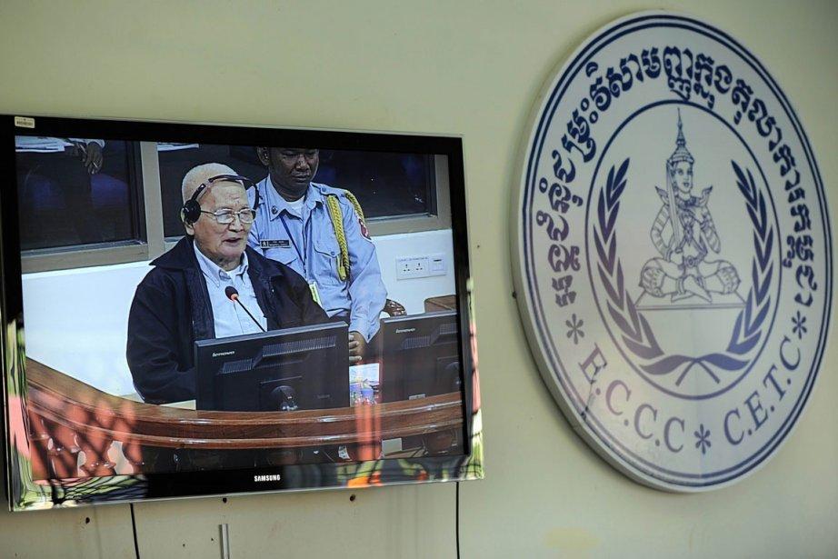 L'ex-ministre des Affaires étrangères Ieng Sary, l'idéologue du... (Photo: AFP)