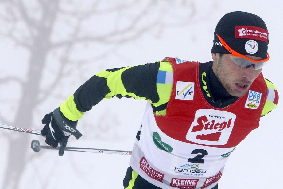 Le Français Jason Lamy-Chappuis a remporté sa première... (Photo Mathias Schrader, AP)