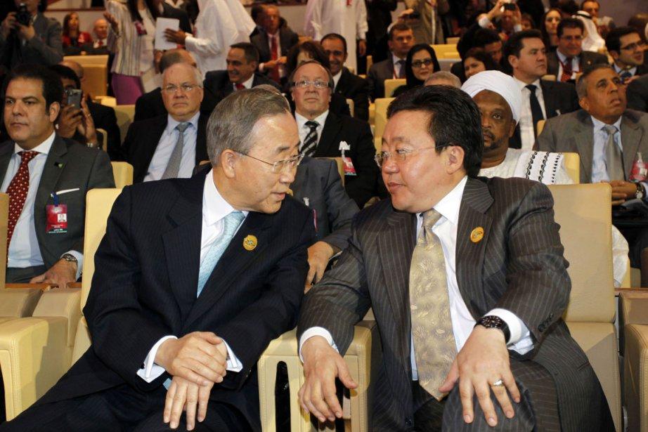 M. Ban a fait cette déclaration alors que... (Photo: Reuters)