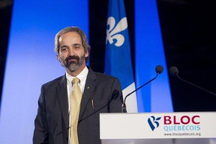 Daniel Paillé succède à Gilles Duceppe à la... (Photo: Robert Skinner, La Presse)
