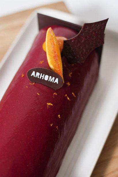 Bûche Arhoma (Martina Muller, fournie par Arhoma)