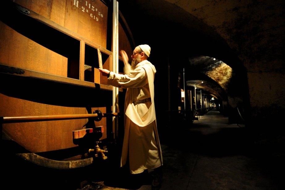 Le Frère Jean-Jacques est l'un des deux moines... (Photo: AFP)