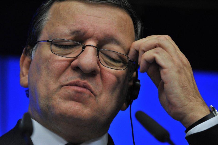 Le président de la Commission européenne, José Manuel... (Photo AFP)