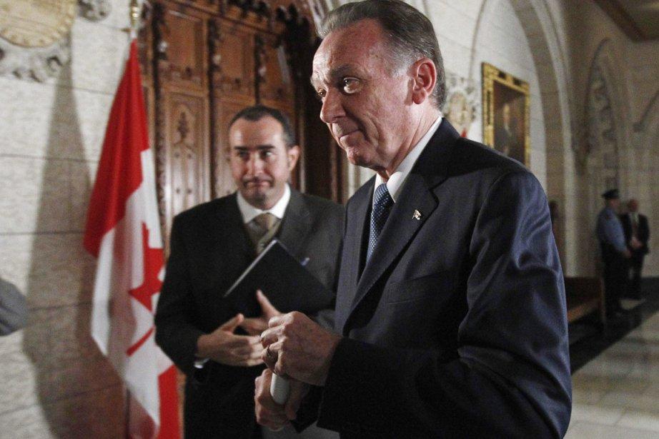 Le ministre fédéral de l'Environnent, Peter Kent.... (Photo: Chris Wattie, Reuters)