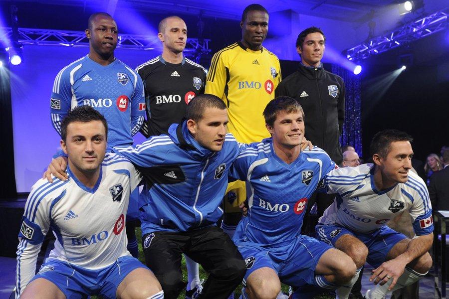 Huit joueurs qui feront partie de l'Impact en... (Photo: Bernard Brault, La Presse)