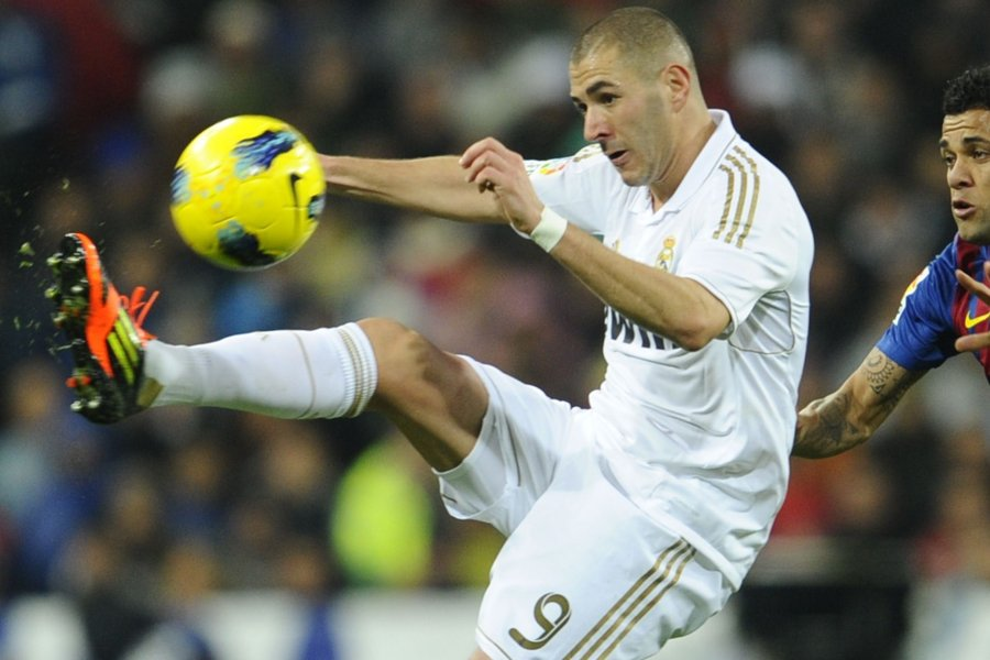 Karim Benzema a marqué 32 buts en 56... (Photo: AFP)