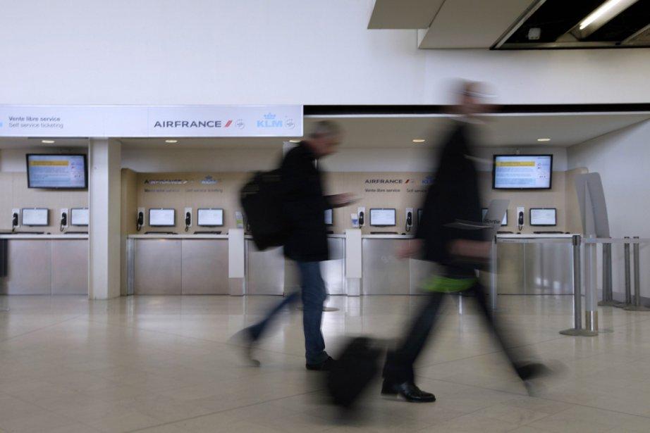 L'aéroport d'Orly, en France... (Photo: AFP)