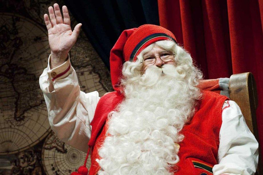 En attendant le Père Noël...... (Photo AFP)