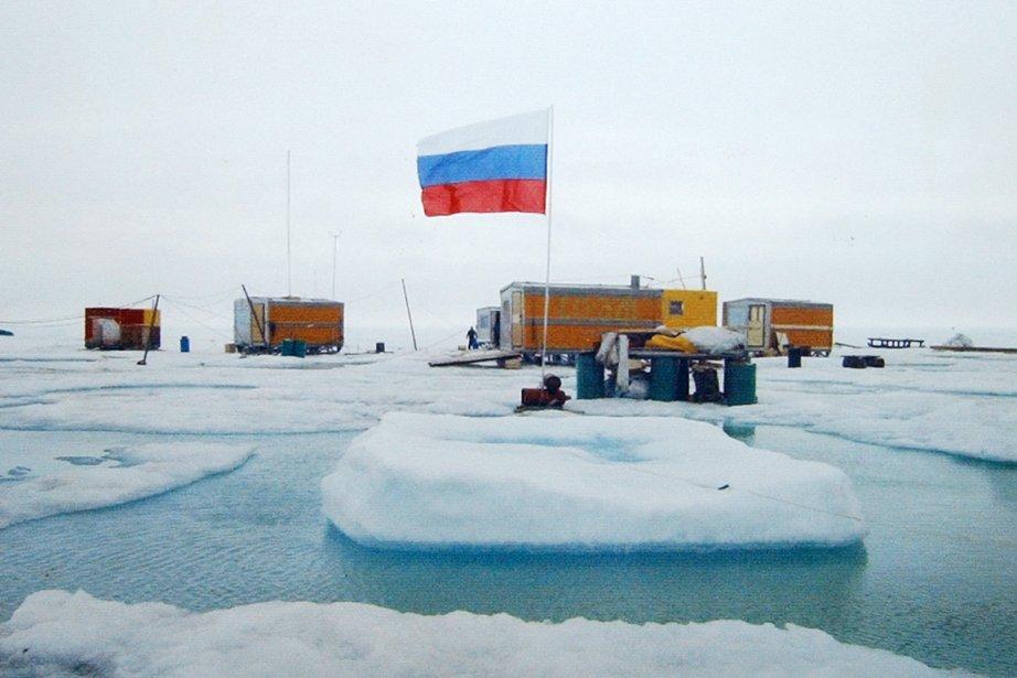Une station météorologique russe dans l'Arctique.... (Photo: Archives AP)