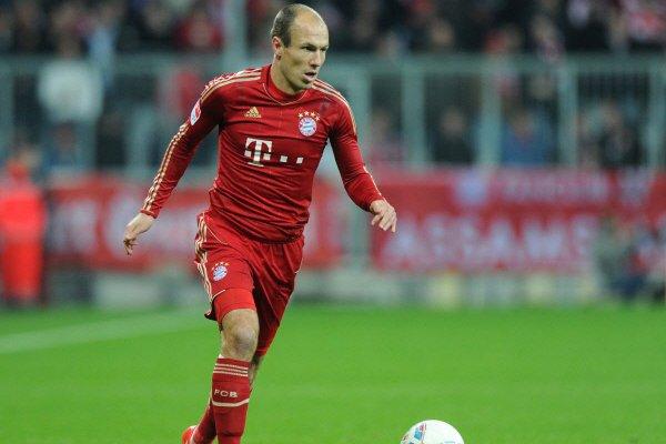 Arjen Robben... (Photo: AFP)