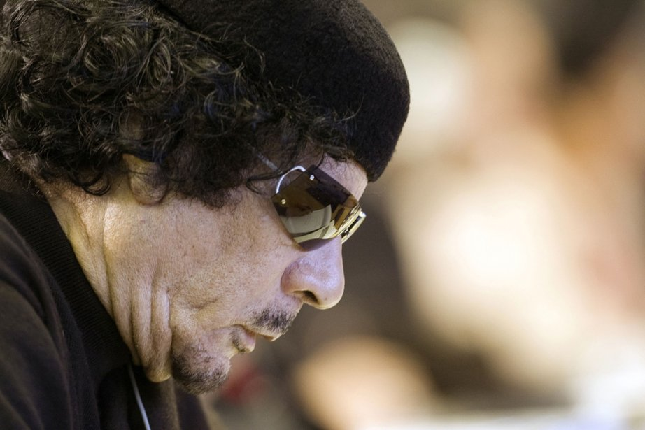 Le dirigeant libyen déchu Mouammar Kadhafi est mort... (Photo: Alessandro Bianchi, Archives AFP)