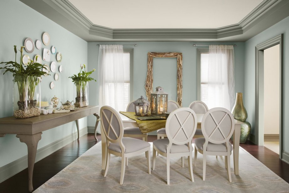 peinture les choix de 2012 marie france l ger design. Black Bedroom Furniture Sets. Home Design Ideas