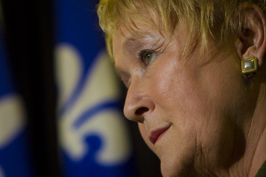 La chef du Parti québécois, Pauline Marois.... (Photo: André Pichette, La Presse)