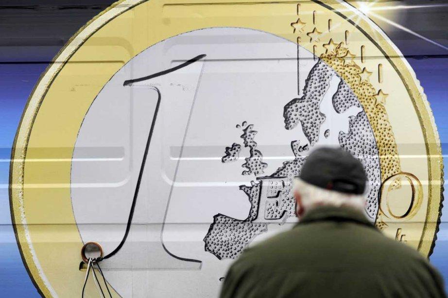 La croissance économique de la zone euro s'est établie à 1,4% en... (Photo AFP)