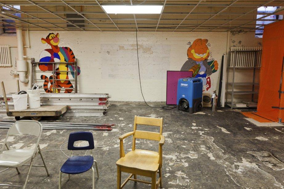 La moitié du personnel de l'école Hochelaga et... (Photo archives, La Presse)