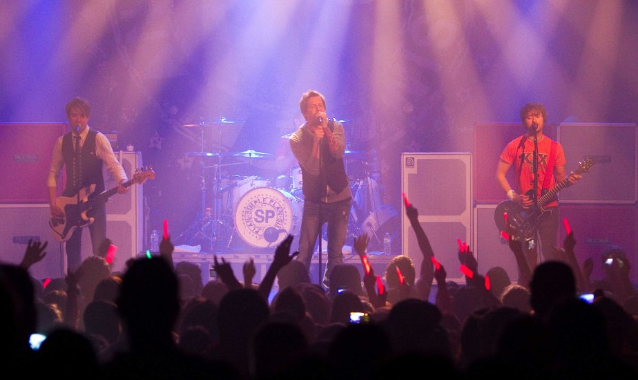 Simple Plan (Photo Hugo-Sebastien Aubert, La Presse)