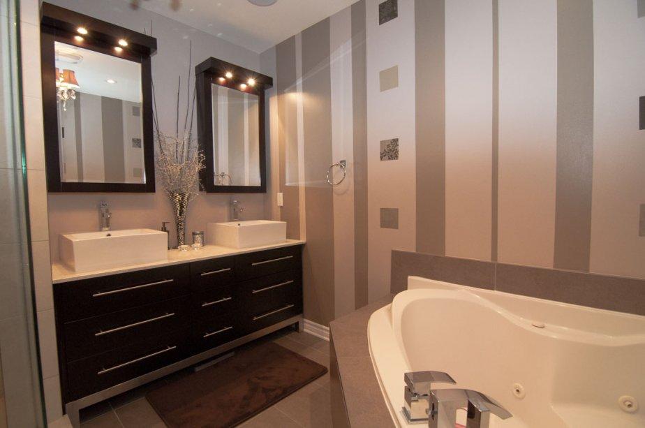 Une premi re maison de r ve val rie v zina - Salle de bain de reve ...