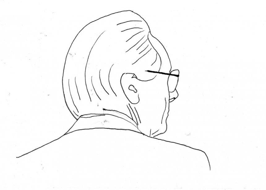 Gilbert Sicotte (Illustration: Johan Batier, La Presse)