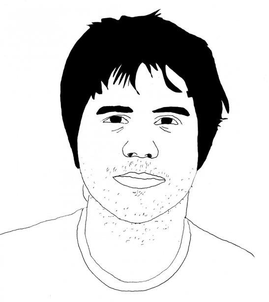 Vincent Vallières (Illustration: Johan Batier, La Presse)