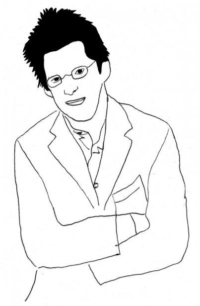 Dominic Champagne (Illustration: Johan Batier, La Presse)